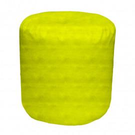 ЦИЛИНДР велюр бархатистый ярко-желтый э-22