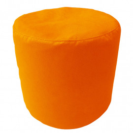 ЦИЛИНДР велюр с текстурой оранжевый ф-008