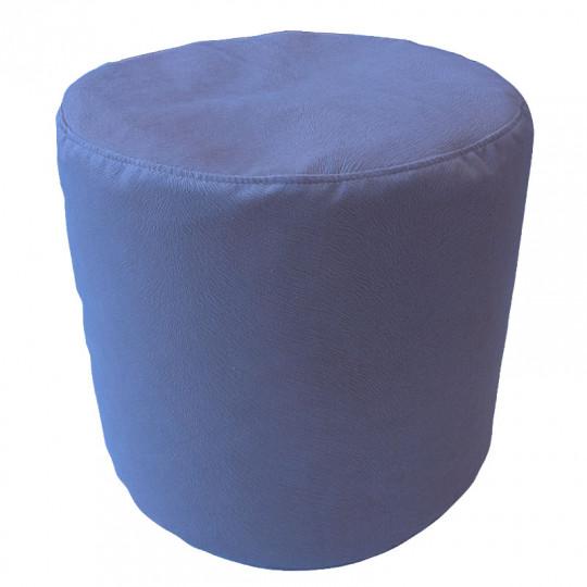 ЦИЛИНДР велюр с текстурой сине-голубой ф-732