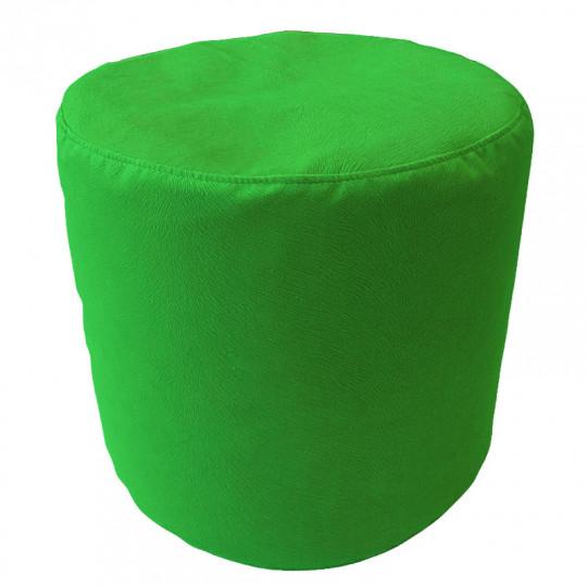 ЦИЛИНДР велюр с текстурой зеленый ф-522