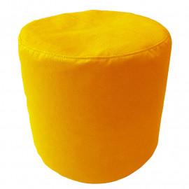 ЦИЛИНДР велюр с текстурой желтый ф-007