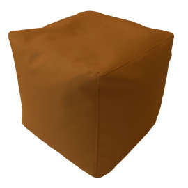 КУБ экокожа коричневый 111