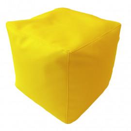 КУБ экокожа желтый 411