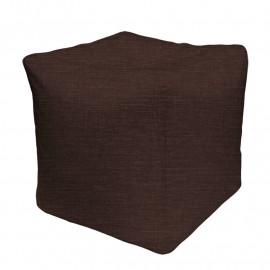 КУБ рогожка темно-коричневый 15D