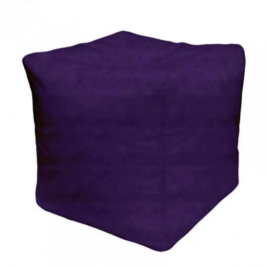 КУБ велюр бархатистый фиолетовый э-27