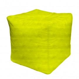 КУБ велюр бархатистый  ярко-желтый э-22