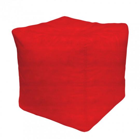 КУБ велюр бархатистый красный b-02