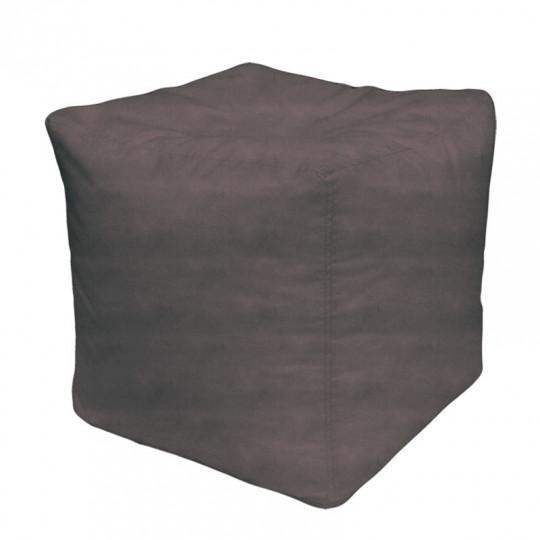 КУБ велюр бархатистый серый b-10