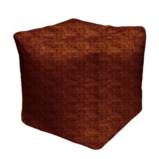 """КУБ велюр """"пятна"""" коричневый 536"""