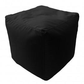 КУБ велюр с текстурой черный ф-018