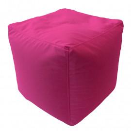 КУБ велюр с текстурой розовый ф-541