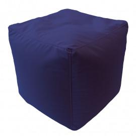 КУБ велюр с текстурой синий ф-564