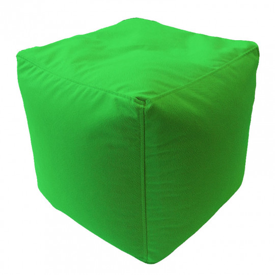 КУБ велюр с текстурой зеленый ф-522
