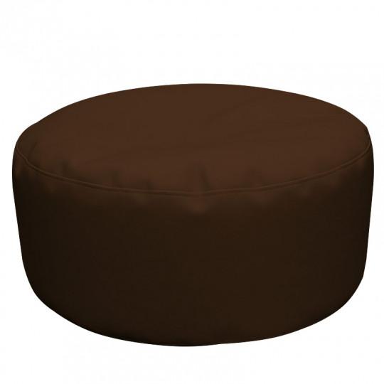 ШАЙБА экокожа темный шоколад 221