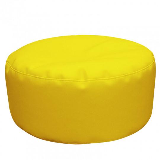 ШАЙБА экокожа желтый 411