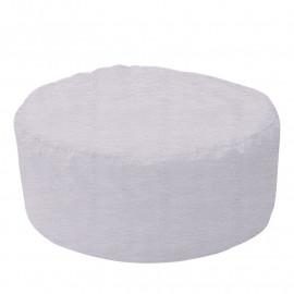 ШАЙБА микровелюр белый 001