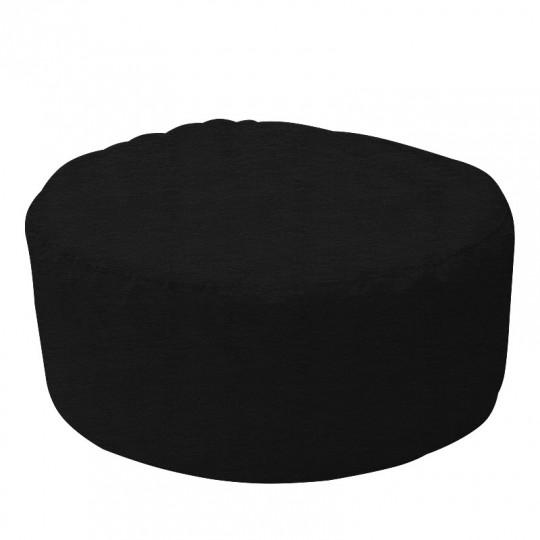 ШАЙБА микровелюр черный 035