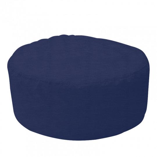ШАЙБА микровелюр синий 034