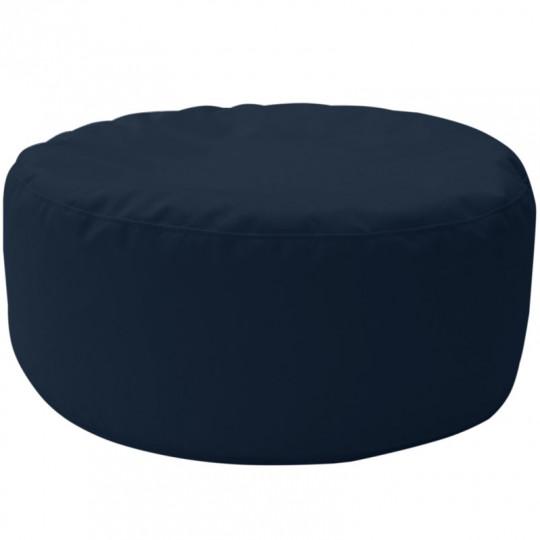 ШАЙБА велюр бархатистый темно-синий э-34