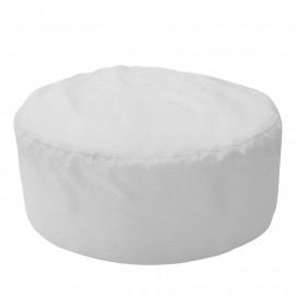 ШАЙБА велюр с текстурой белый ф-001