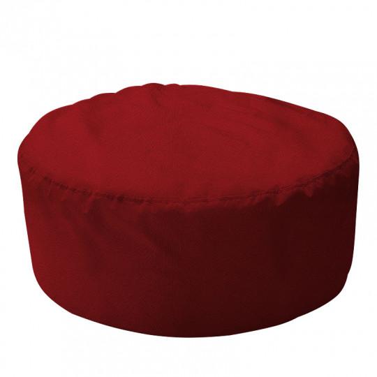 ШАЙБА велюр с текстурой бордовый ф-013