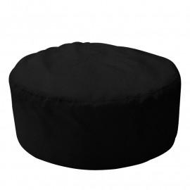 ШАЙБА велюр с текстурой черный ф-018