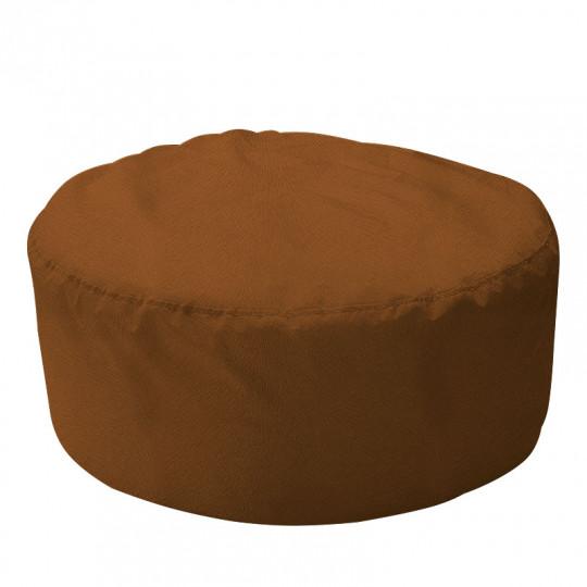 ШАЙБА велюр с текстурой коричневый ф-510