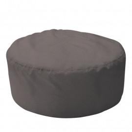 ШАЙБА велюр с текстурой серый ф-017