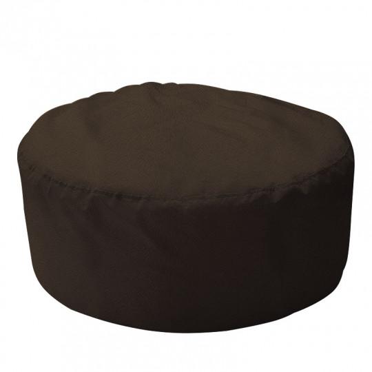 ШАЙБА велюр с текстурой шоколадный ф-520