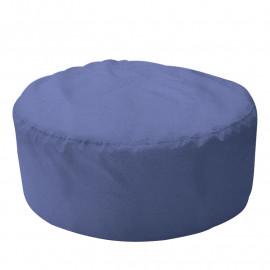 ШАЙБА велюр с текстурой сине-голубой ф-732