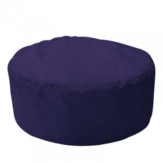 ШАЙБА велюр с текстурой синий ф-564