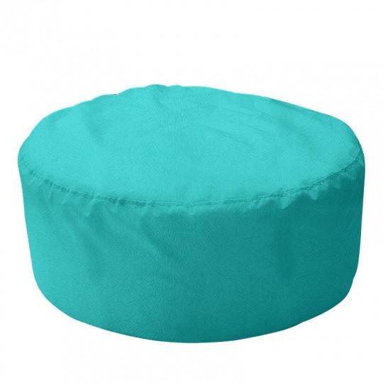 ШАЙБА велюр с текстурой светло-бирюзовый ф-010