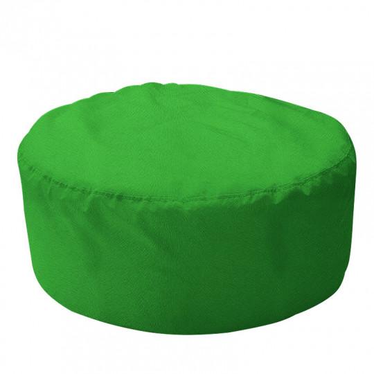 ШАЙБА велюр с текстурой зеленый ф-522