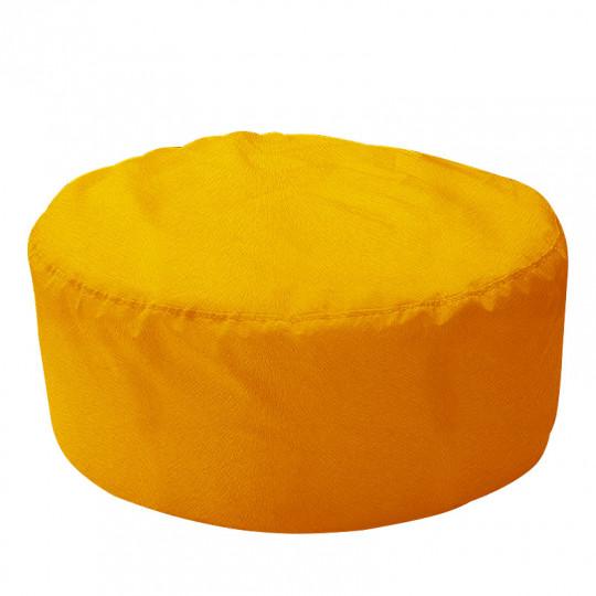 ШАЙБА велюр с текстурой желтый ф-007