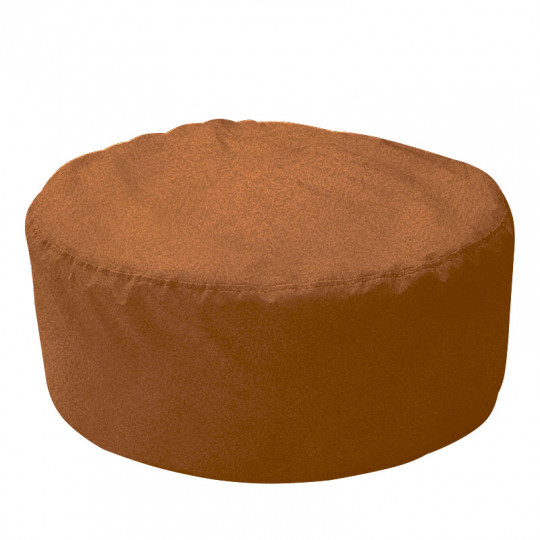 ШАЙБА велюр с тиснением коричневый 509
