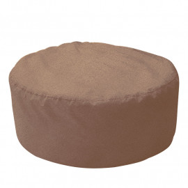 ШАЙБА велюр с тиснением молочный шоколад 731